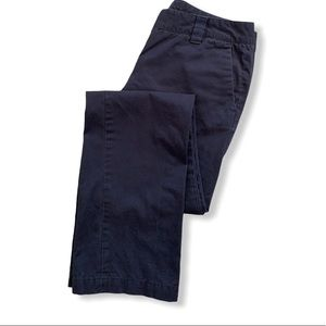 Tommy Hilfiger 100% cotton navy blue trousers sz 4